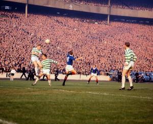 Scottish league Cup Final 1965 Rangers versus Celtic sdrscottishcupfinal